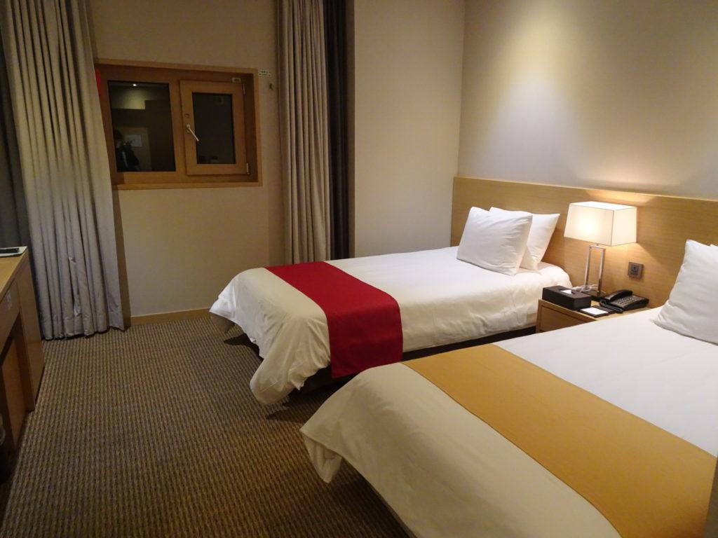明洞で格安ニューオリエンタルホテル ツインルーム