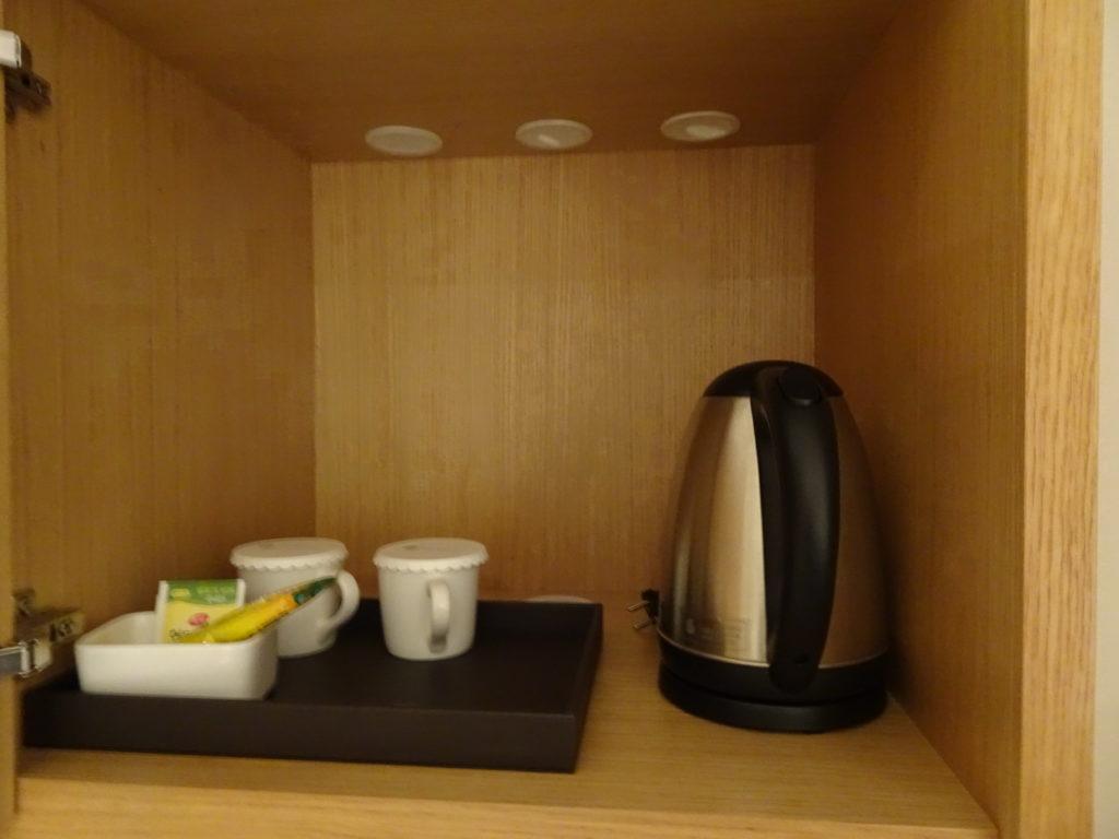 NEW ORIENTAL HOTEL明洞には、部屋にコーヒーなども完備