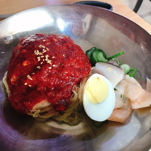 真味平壌冷麺【ミシュラン掲載店】で韓国本場の味を堪能