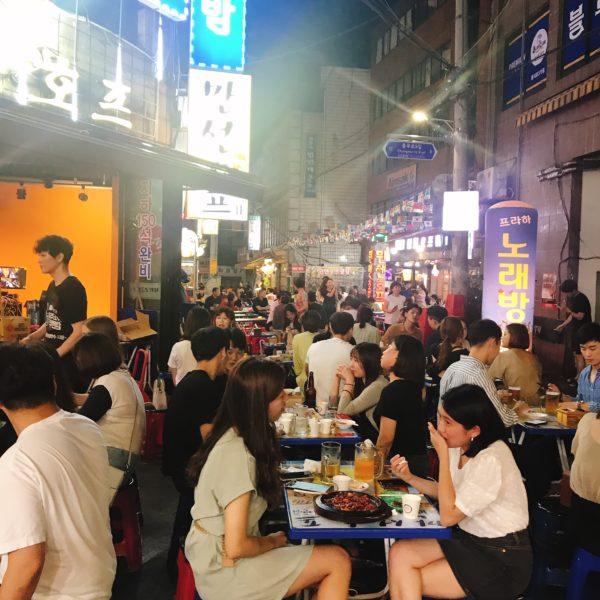 ソウル飲み歩き「ノガリ横丁」で韓国らしい酒場体験