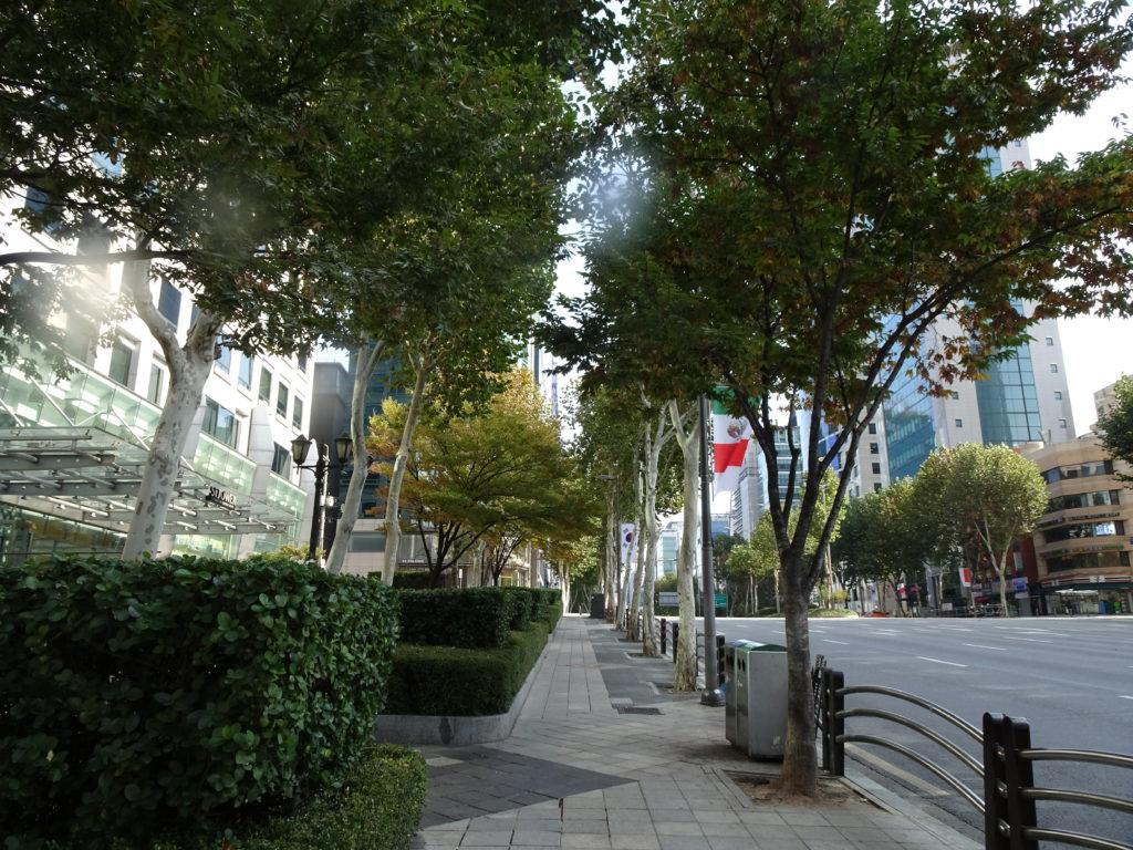ソウル地下鉄2号線 駅三駅8番出口を出たら真っ直ぐ