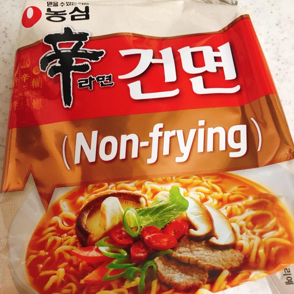 韓国インスタント 辛ラーメンノンフライ
