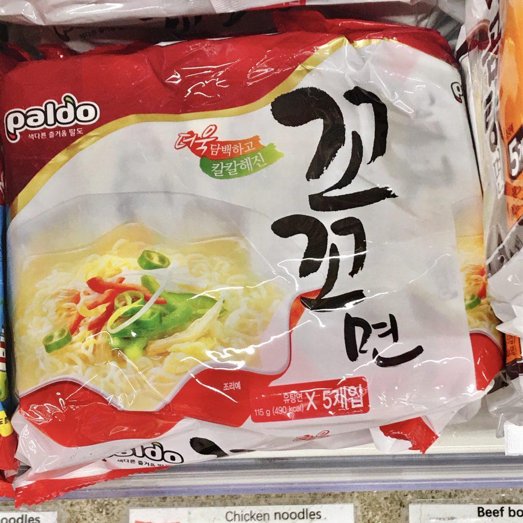 韓国インスタントラーメン ココ麺