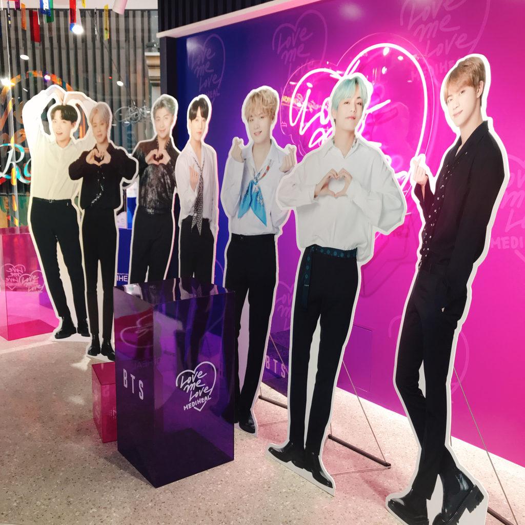 MEDIHEALの明洞直営店 3F BTSフォトフロア