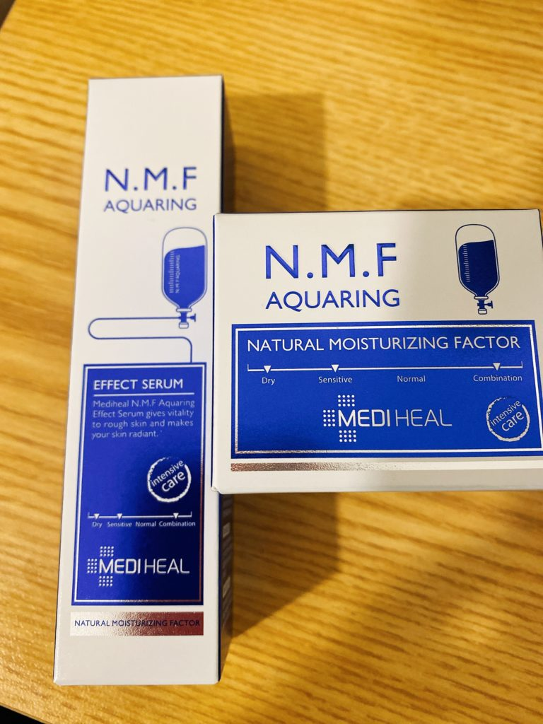 韓国コスメ MEDIHEAL EFFECT SERUM」 「NATURAL MOISTURIZING FACTOR」