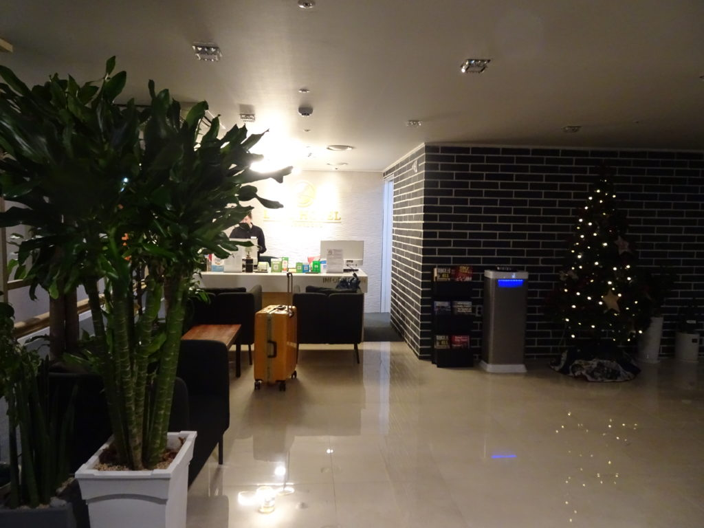LINE HOTEL MYEONGDONG フロント