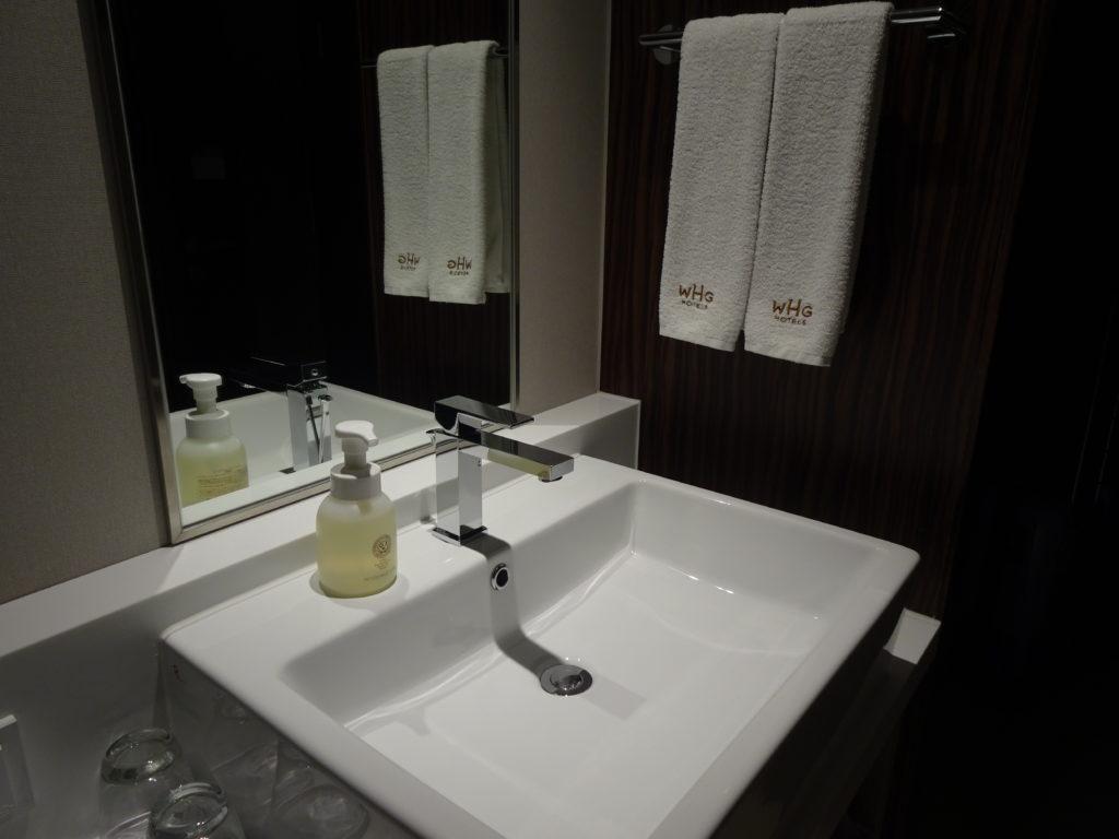 HOTEL GRACERY SEOUL 洗面台