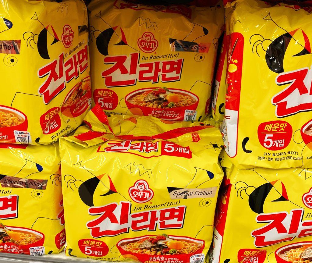 韓国インスタント ジンラーメン
