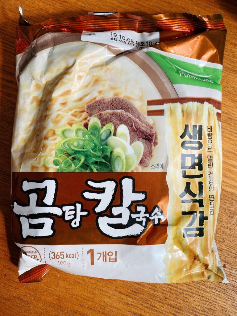 韓国インスタント コムタンカルックス