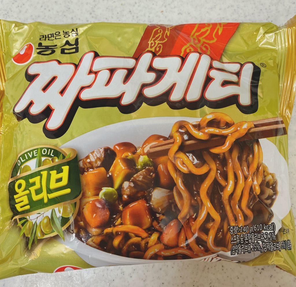 韓国インスタント チャパゲッティ